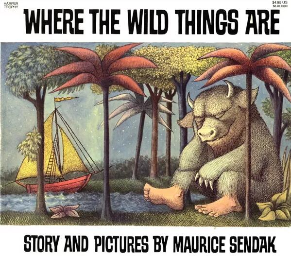 英语绘本故事《where the wild things are》